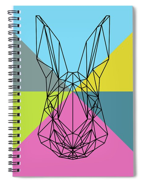 Party Rabbit Spiral Notebook