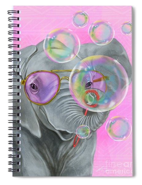 Party Safari Elephant Spiral Notebook