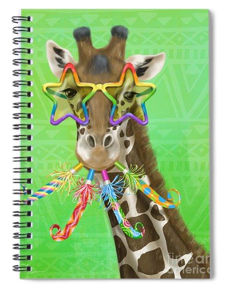 Party Safari Giraffe Spiral Notebook