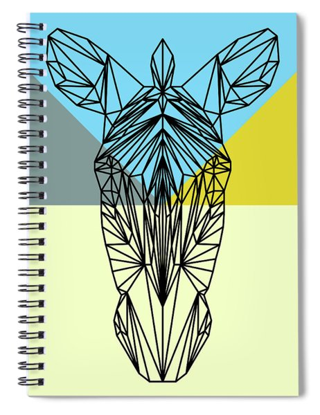 Party Zebra Spiral Notebook