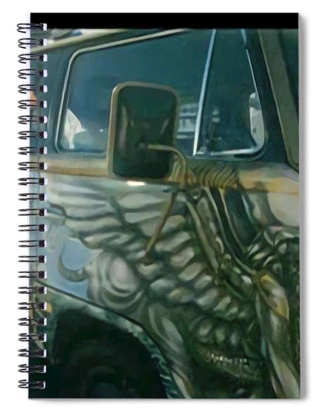 Passenger Side Spiral Notebook