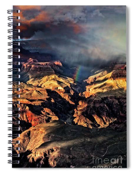 Passing Storm Spiral Notebook by Scott Kemper