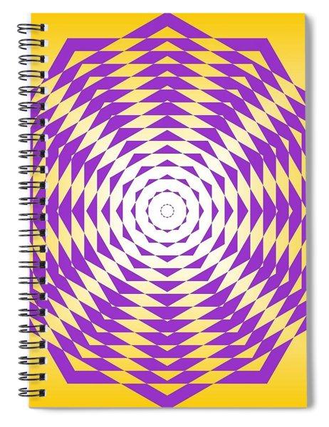 Passionate Purple  Spiral Notebook