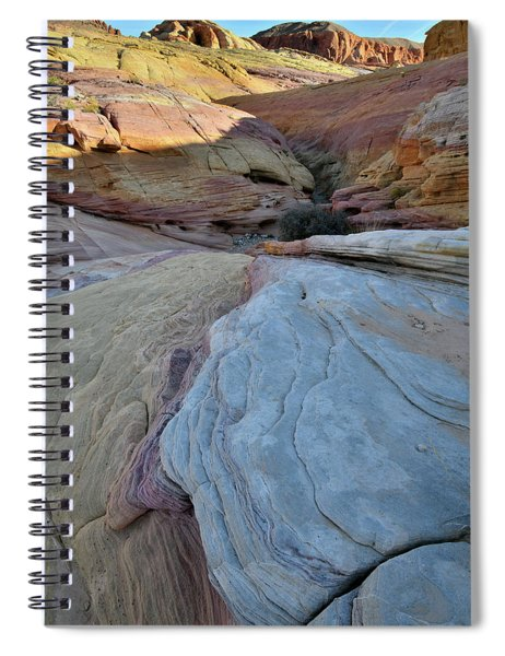 Pastel Canyon In Valley Of Fire State Park Spiral Notebook