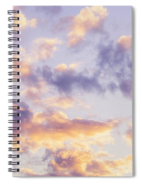 Pastel Cloudscape Spiral Notebook