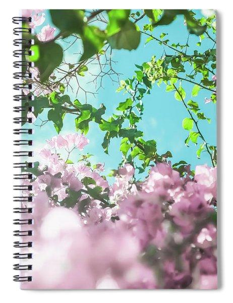 Floral Dreams II Spiral Notebook
