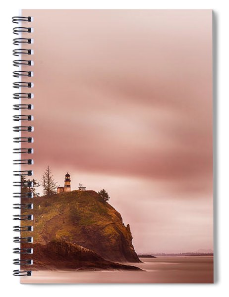 Pastel Seascape Spiral Notebook