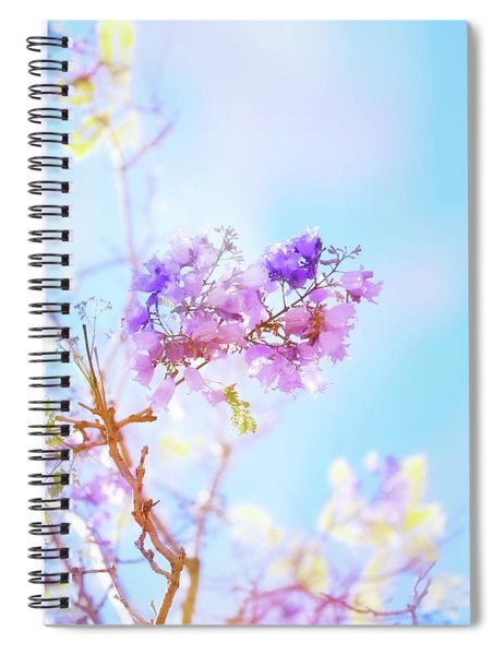 Pastels In The Sky Spiral Notebook