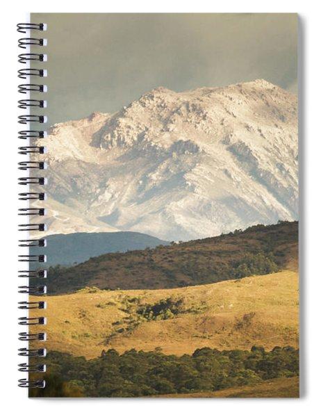 Pastoral Peaks  Spiral Notebook
