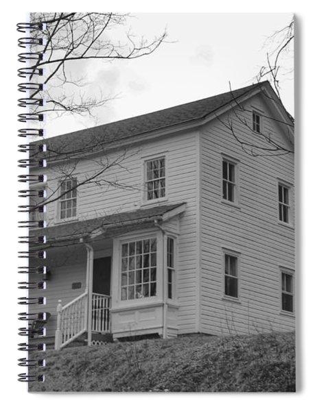 Pastors House - Waterloo Village Spiral Notebook