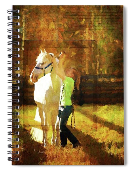 Pasture Time Spiral Notebook