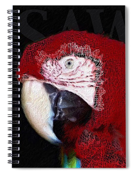 Patchwork Parrot Spiral Notebook by ISAW Company