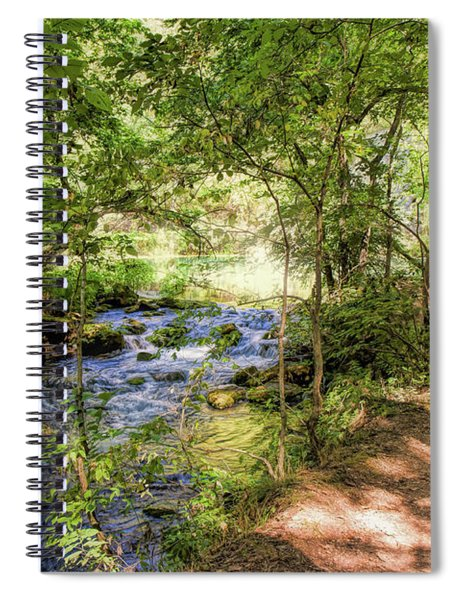 Path Along Alley Springs Spiral Notebook