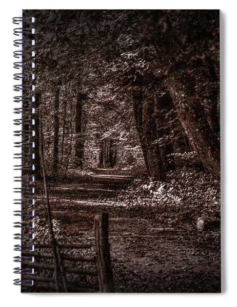 Path In Forest #i0 Spiral Notebook