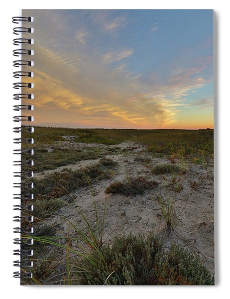Paths In The Sky Spiral Notebook