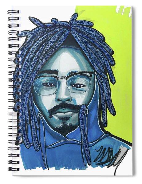 Patrick Spiral Notebook