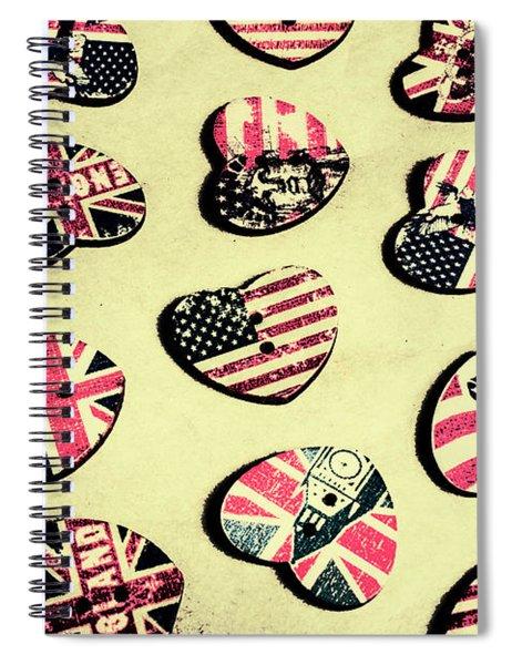 Patriotic Picks Spiral Notebook