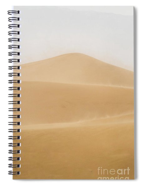 Patterned Desert Spiral Notebook
