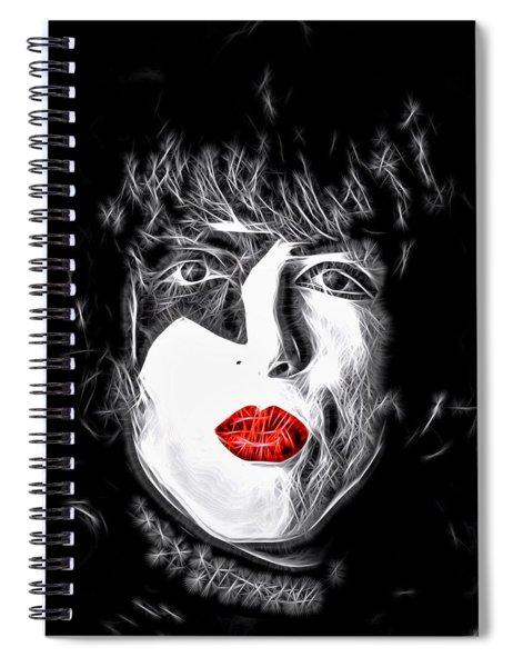 Paul Stanley Spiral Notebook