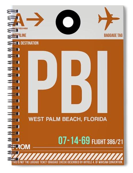 Pbi West Palm Beach Luggage Tag II Spiral Notebook