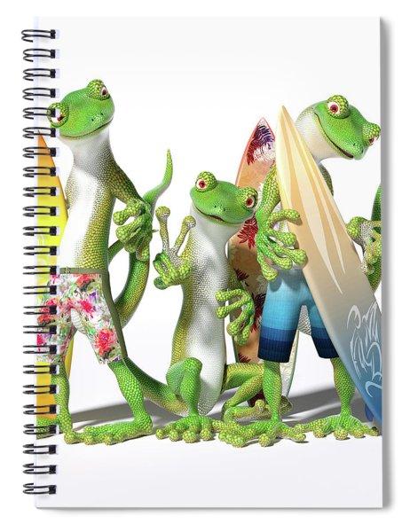 Peace Geckos  Spiral Notebook