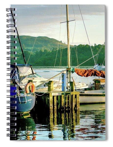 Peace In Lake Windermere Spiral Notebook