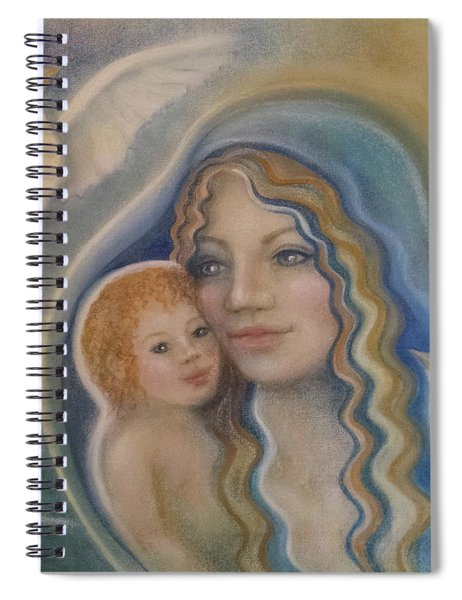 Peace Mother Spiral Notebook