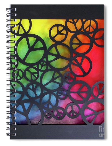 Peace Out Spiral Notebook