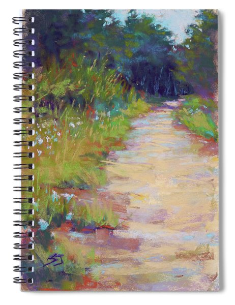 Peaceful Journey Spiral Notebook