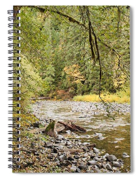 Peaceful Molalla River Spiral Notebook