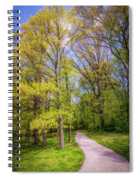 Peaceful Pathway Spiral Notebook