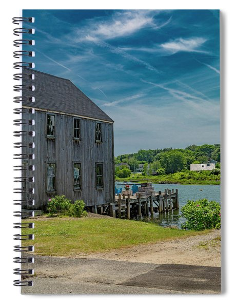 Peaceful View Near Kennebunkport Spiral Notebook