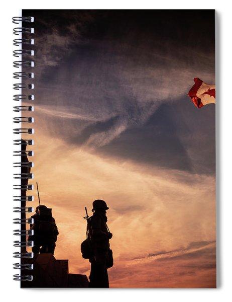 Peacekeepers Spiral Notebook