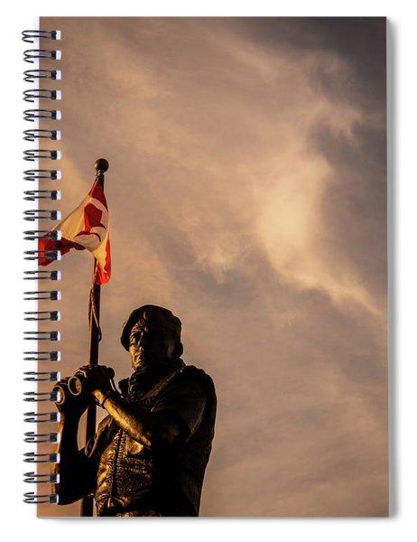 Peacekeeping Spiral Notebook