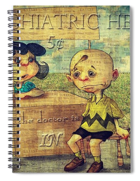 Peanuts Spiral Notebook