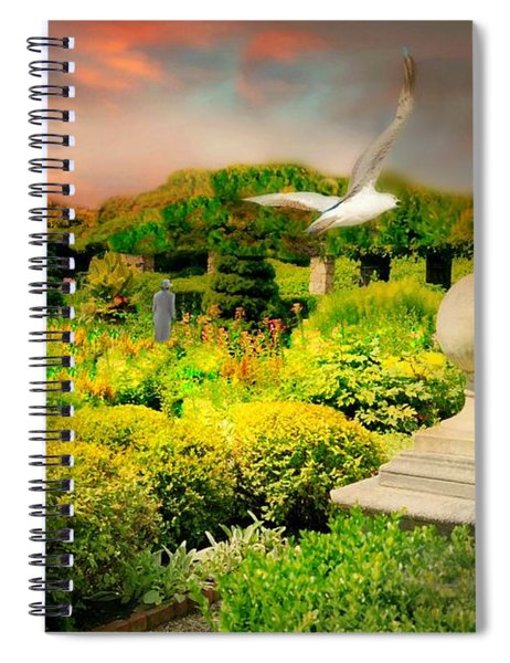 Pearly Gates Spiral Notebook