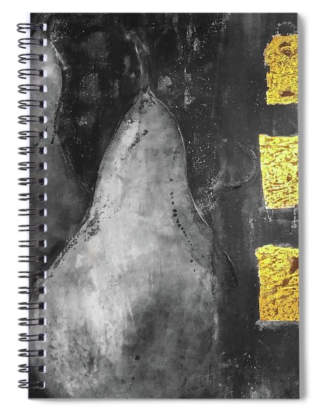 Pears A La Gold  Spiral Notebook