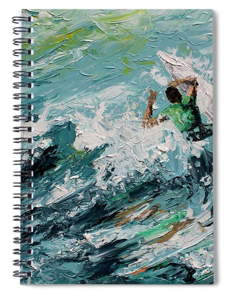 Pedal To The Metal Spiral Notebook