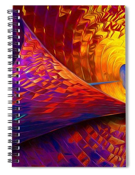 Peeling Back Time Spiral Notebook