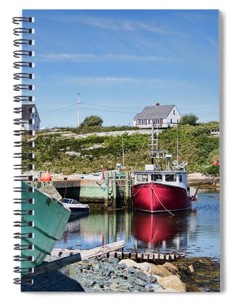 Peggy's Cove, Nova Scotia Spiral Notebook