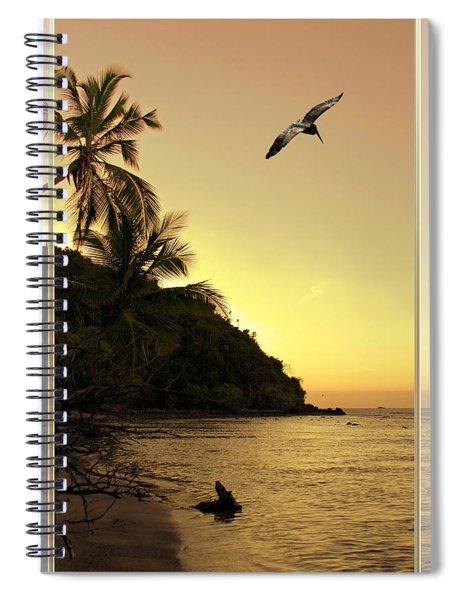 Pelican Sundown Spiral Notebook
