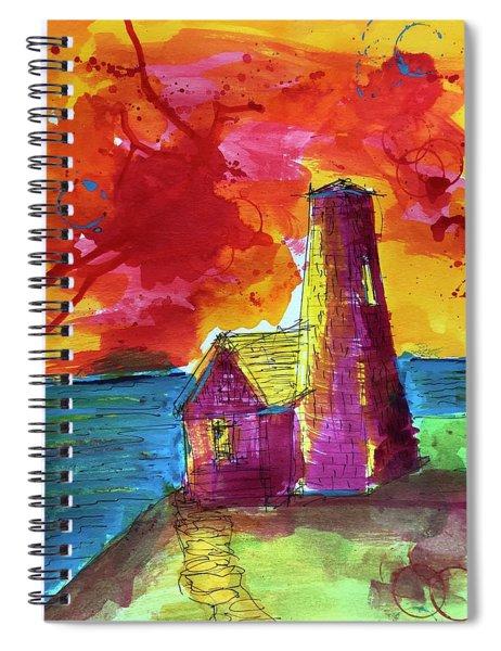 Pemaquid 2 Spiral Notebook