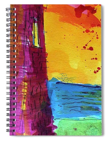 Pemaquid 3 Spiral Notebook