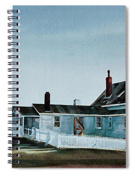 Pemaquid Light Spiral Notebook