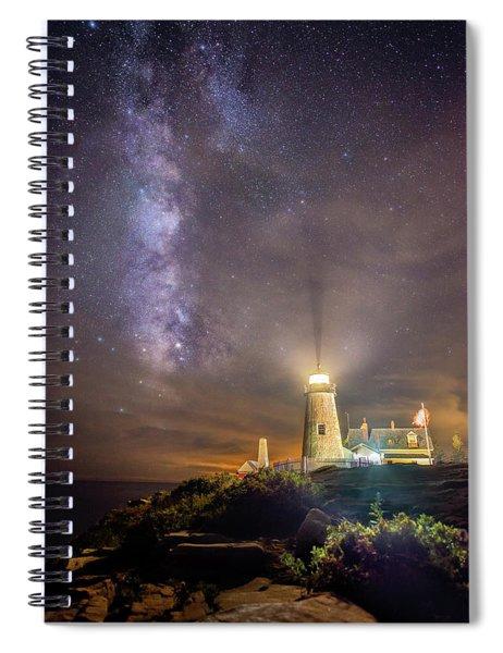 Pemaquid Lighthouse Spiral Notebook