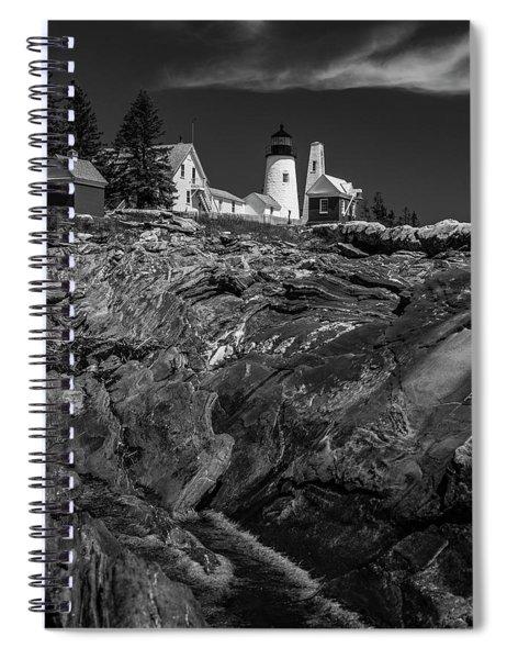 Pemaquid Monochrome Spiral Notebook