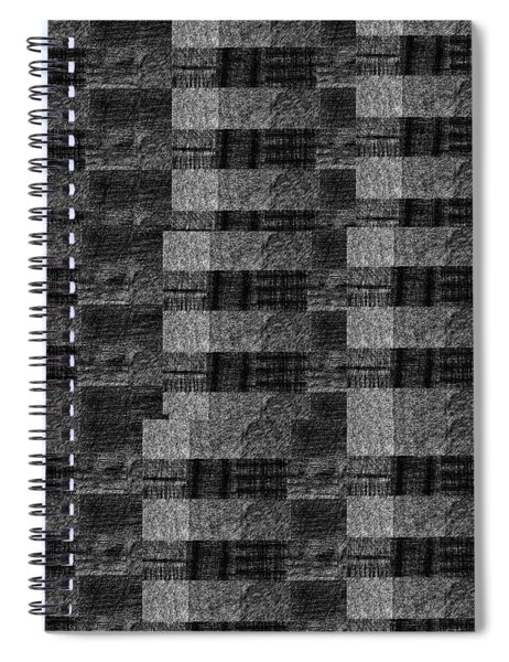 Pencil Scribble Texture 2 Spiral Notebook