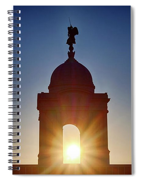 Pennsylvania State Monument Spiral Notebook