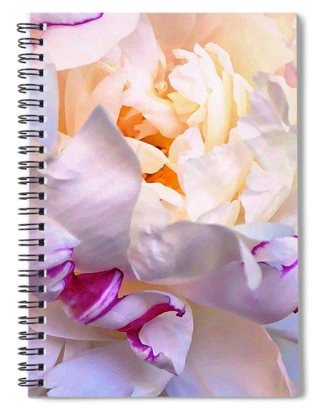 Peony Love 1 Spiral Notebook