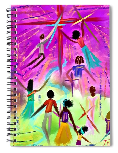 People Of The Cross Spiral Notebook